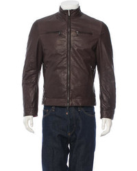 Brunello Cucinelli Reversible Leather Jacket W Tags