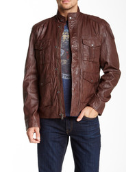 Lucky Brand Roadster Genuine Leather Jacket