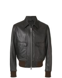 AMI Alexandre Mattiussi Zipped Jacket Classic Collar