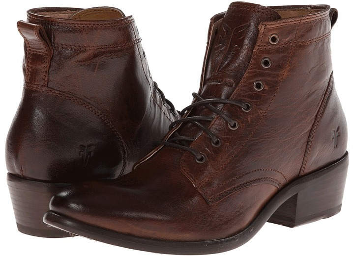 Frye Carson Lace Up, $298 | Zappos