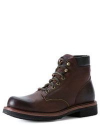 Frye Dakota Crepe Boot Dark Brown