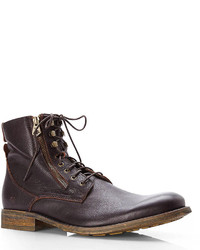 Dark Brown Campbell Ankle Boots