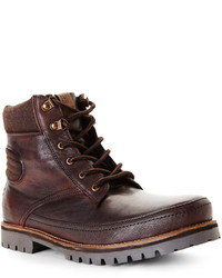 Ben Sherman Dark Brown Kinsley Boots