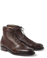 Foot the Coacher Grenson Sport Pebble Grain Leather Brogue Boots