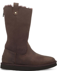 UGG Jesslyn Zipped Leather Boots 7 9 Years