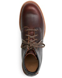Brooks Brothers Red Wing For 4522 Brown Pebble Leather Boots