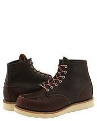 Red Wing Shoes Red Wing Heritage 6 Moc Toe Lace Up Boots