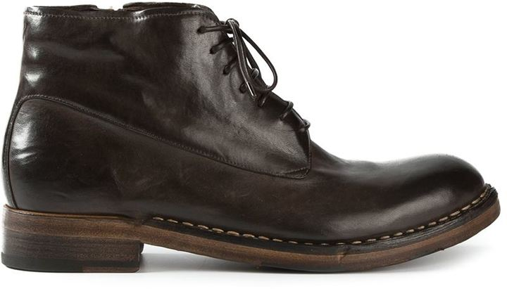how to wear dark brown boots