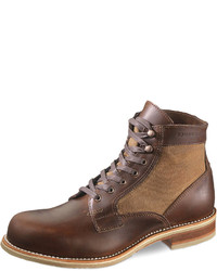 Wolverine Whitepine 1000 Mile Leathercanvas Boot