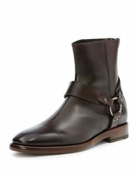 Frye Wright Leather Harness Boot