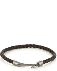 Bottega Veneta Braided Leather Bracelet