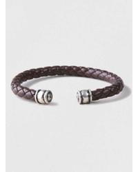 Topman Plait Cuff Bracelet