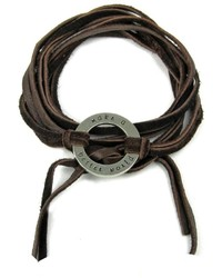 The Leakey Collection Leather Wrap Bracelet