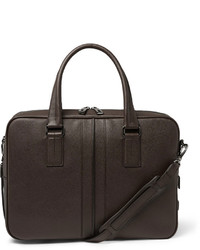 Tod's Cross Grain Leather Briefcase