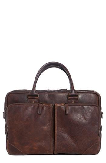 Moore & Giles Haythe Leather Briefcase