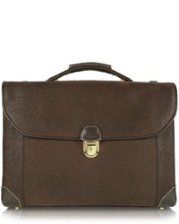 Bric's Life Double Gusset Micro Suede Briefcase