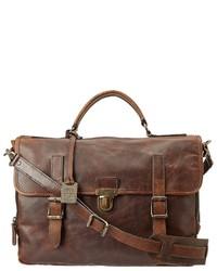 Frye Logan Buckle Briefcase