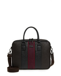 Ted Baker London Merman Faux Leather Briefcase
