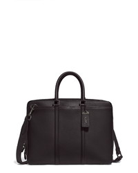 Coach Metropolitan Slim Leather Briefcase