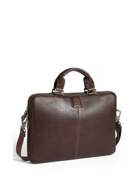 Boconi Tyler Leather Laptop Briefcase