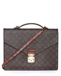WGACA Vintage Vintage Louis Vuitton Monogram Briefcase