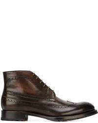 Canali Classic Brogue Boots
