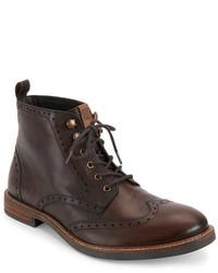 Ben Sherman Cognac Birk Boots
