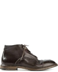 Dolce & Gabbana Brogue Ankle Boots