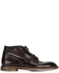 Dolce & Gabbana Marsala Brogue Boots