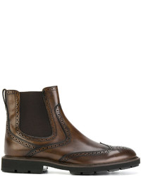 Tod's Tronchetto Brogue Boots