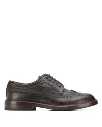 Brunello Cucinelli Textured Derby Shoes
