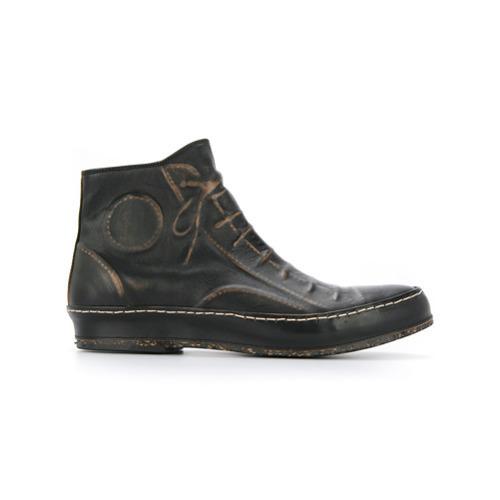 Maison Mihara Yasuhiro Boots With Embossed Shoe Details