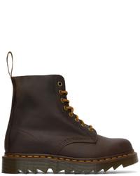 Dr. Martens Brown 1460 Pascal Ziggy Boots