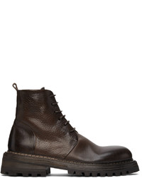 Marsèll Brown Carrucola Lace Up Boots