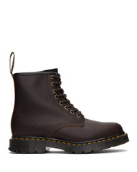 Dr. Martens Brown Wintergrip 1460 Boots