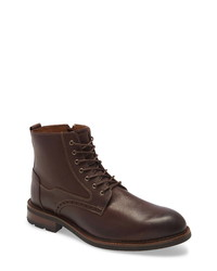 Johnston & Murphy Fullerton Waterproof Plain Toe Boot