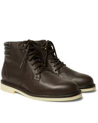 Loro Piana Icer Walk Leather Boots