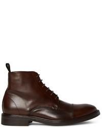 Paul Smith Jarman Cap Toe Leather Boots