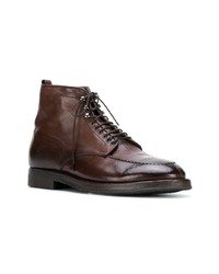Alberto Fasciani Lace Up Ankle Boots