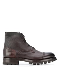 Santoni Lace Up Ankle Boots
