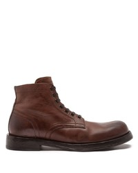 Dolce & Gabbana Lace Up Ankle Boots