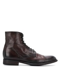 Pantanetti Lace Up Ankle Boots