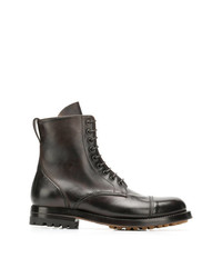 Silvano Sassetti Lace Up Ankle Boots