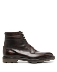 John Lobb Lace Up Leather Boots
