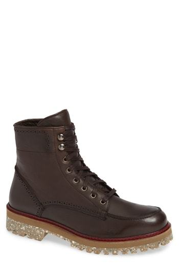 Donald Pliner Larz Lugged Moc Toe Boot