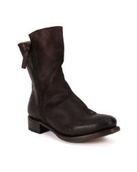 Cherevichkiotvichki Leather Panel Boots
