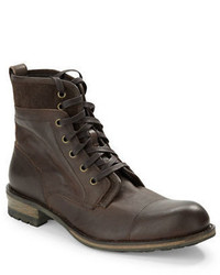 John Varvatos Lincoln Leather Ankle Boots