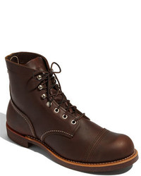 Red wing iron ranger 6 inch boot medium 375308