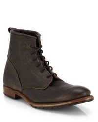 Walk-Over Rutherford Lace Up Leather Boots