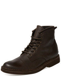 Sahara Leather Hi Top Boot